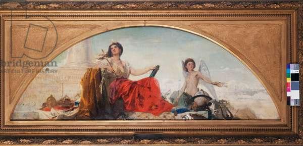 The Europe, 1867 (oil on cardboard)