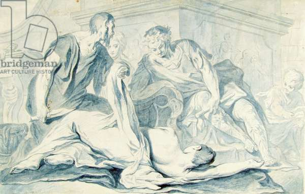 Nero Watching the Body of Agrippina,