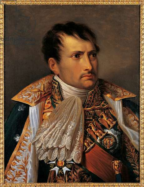 Portrait of Napoleon I Bonaparte, 1805 (oil on canvas)