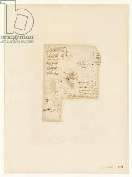 Codex Atlanticus, sheet 713 recto