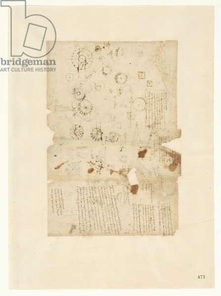 Codex Atlanticus, sheet 473 recto