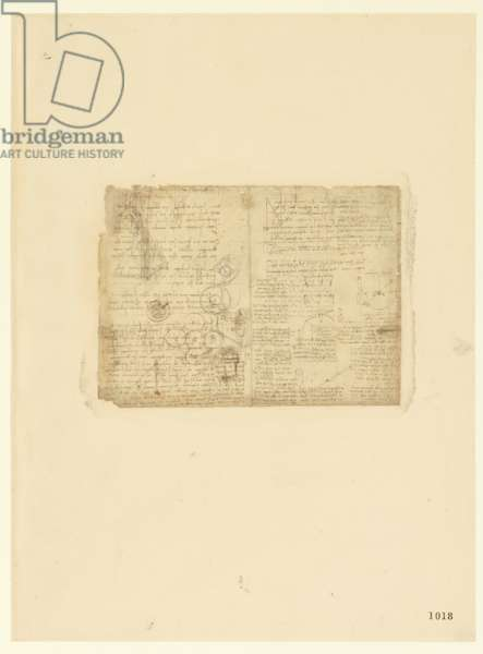 Codex Atlanticus, sheet 1018 recto