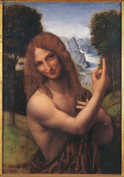 Saint John the Baptist, 1510-20 (tempera & oil on panel)
