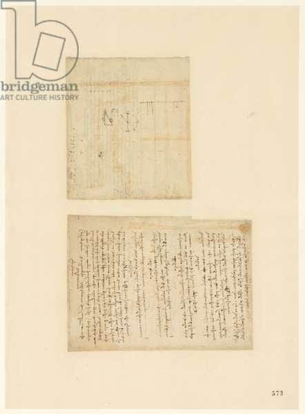 Codex Atlanticus, sheet 573 recto