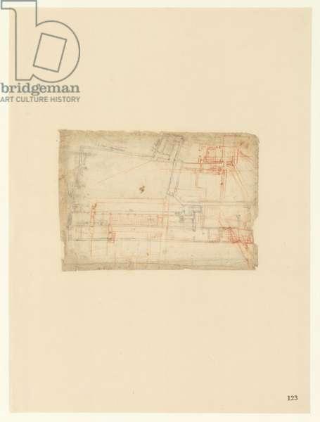 Codex Atlanticus, sheet 123 recto