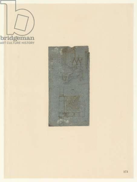 Codex Atlanticus, sheet 173 recto