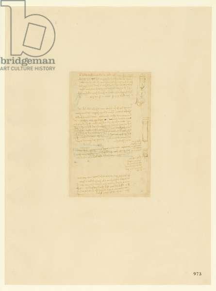 Codex Atlanticus, sheet 973 recto