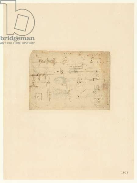 Codex Atlanticus, sheet 1073 recto