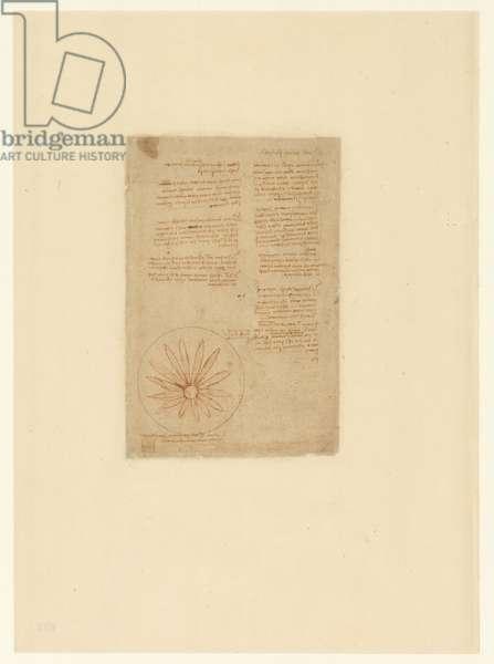 Codex Atlanticus, sheet 623 verso