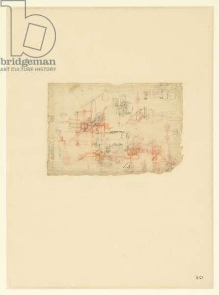 Codex Atlanticus, sheet 883 recto