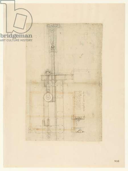Codex Atlanticus, sheet 933 recto