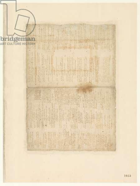 Codex Atlanticus, sheet 1033 recto