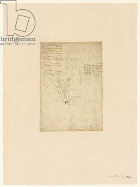Codex Atlanticus, sheet 343 recto