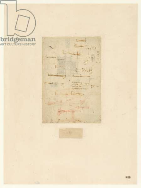 Codex Atlanticus, sheet 988 recto