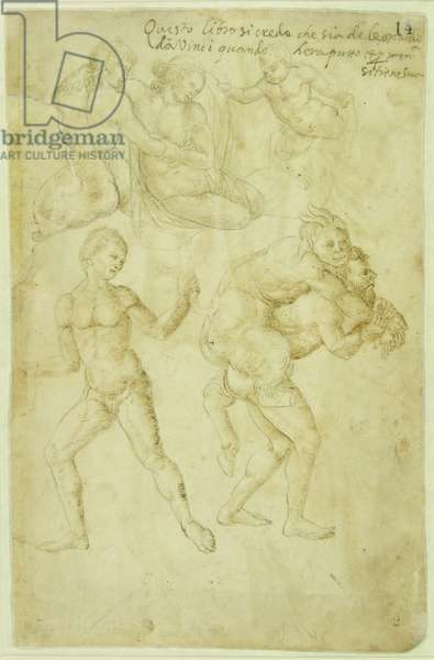 Nereid Hugged by a Triton and Pan Drunk and Carried Away by a Satyr