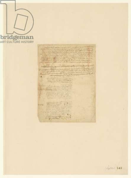 Codex Atlanticus, sheet 543 recto