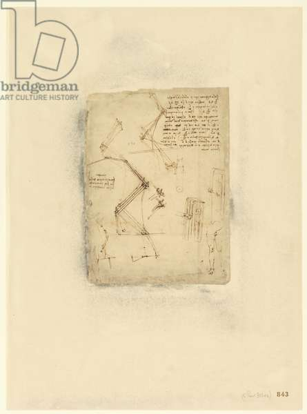 Codex Atlanticus, sheet 843 recto