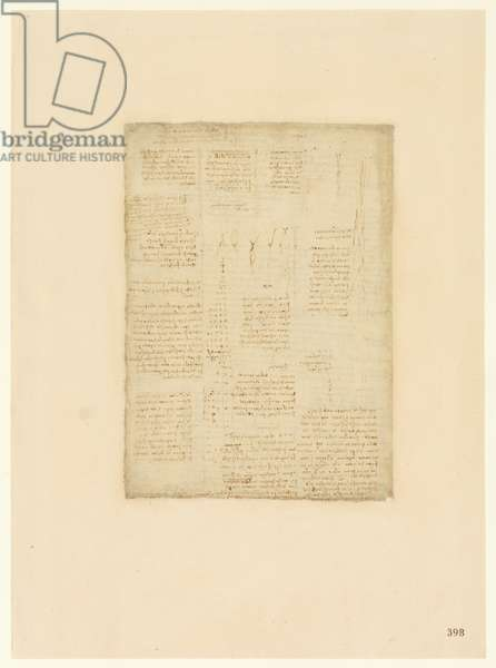 Codex Atlanticus, sheet 398 recto