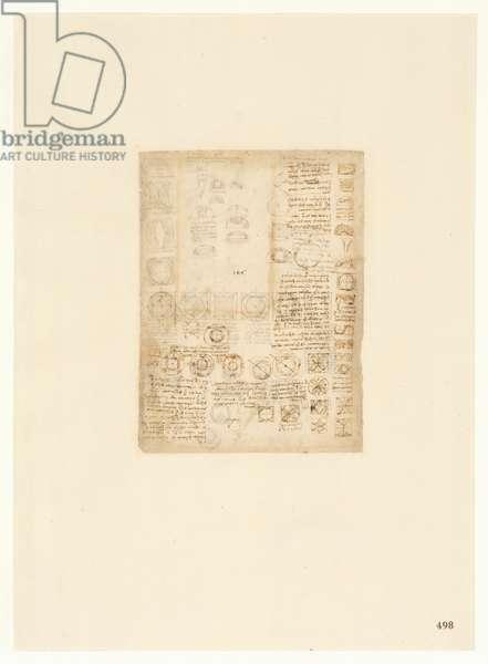 Codex Atlanticus, sheet 498 recto