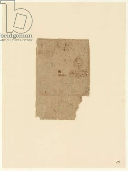 Codex Atlanticus, sheet 298 recto