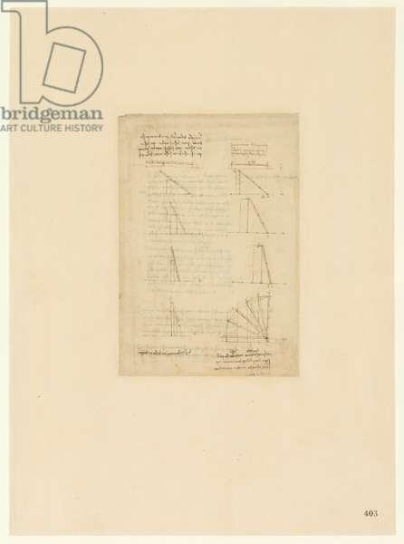 Codex Atlanticus, sheet 403 recto