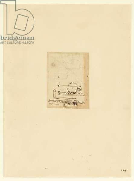 Codex Atlanticus, sheet 998 recto