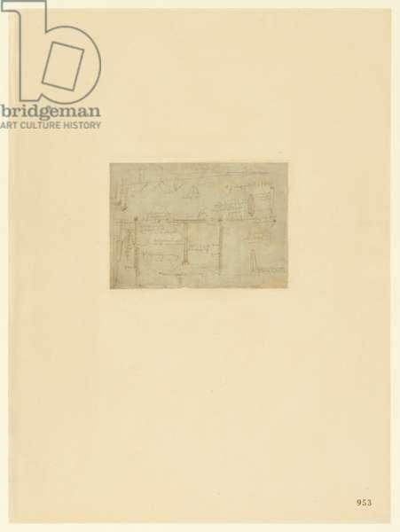 Codex Atlanticus, sheet 953 recto