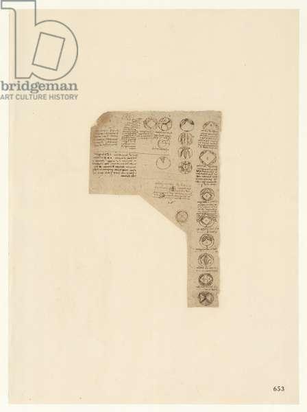 Codex Atlanticus, sheet 653 recto
