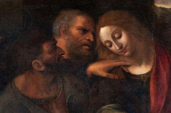 Judas, Saint Peter and Saint John