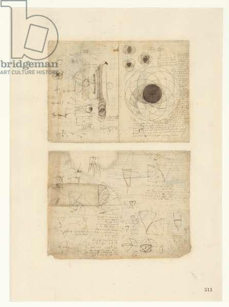 Codex Atlanticus, sheet 513 recto