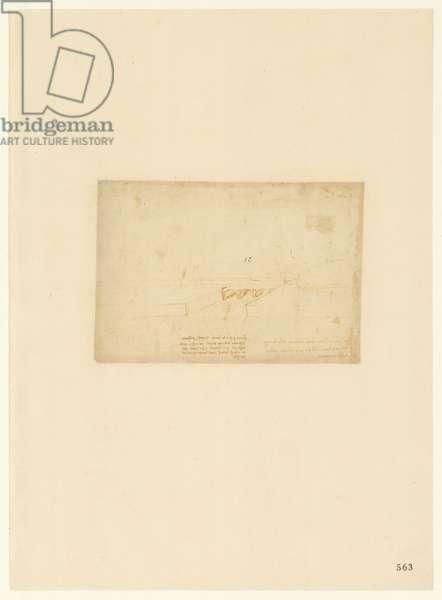 Codex Atlanticus, sheet 563 recto