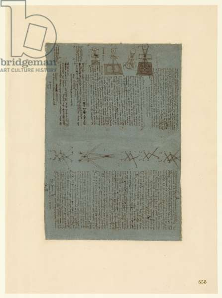Codex Atlanticus, sheet 658 recto