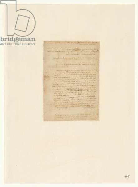 Codex Atlanticus, sheet 468 recto