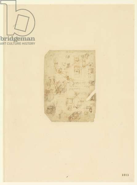 Codex Atlanticus, sheet 1013 recto
