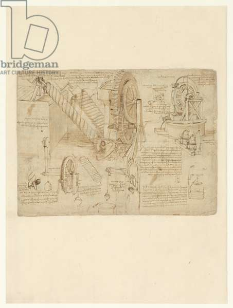Codex Atlanticus, sheet 26 verso