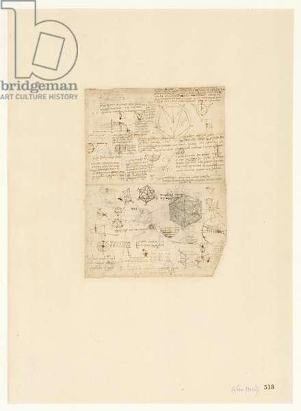 Codex Atlanticus, sheet 518 recto