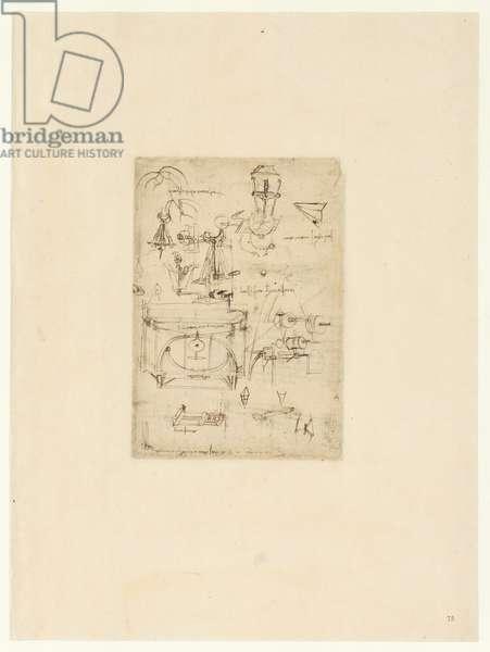 Codex Atlanticus, sheet 75 recto