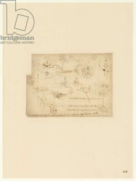 Codex Atlanticus, sheet 168 recto