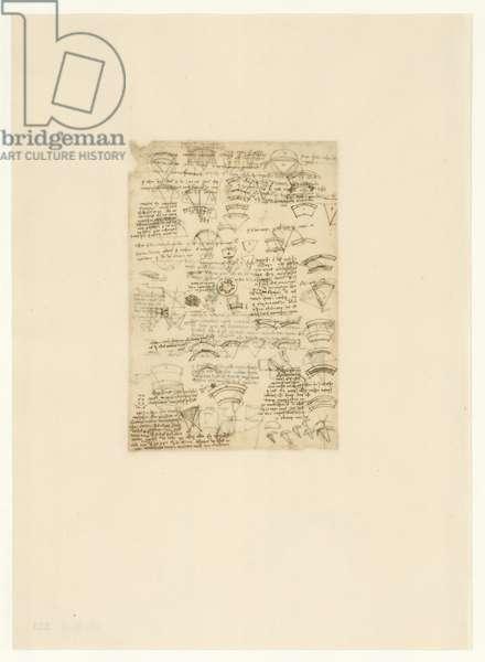 Codex Atlanticus, sheet 523 verso