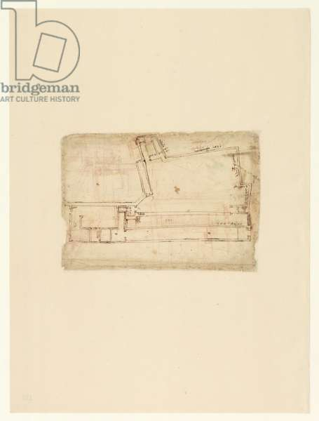 Codex Atlanticus, sheet 123 verso