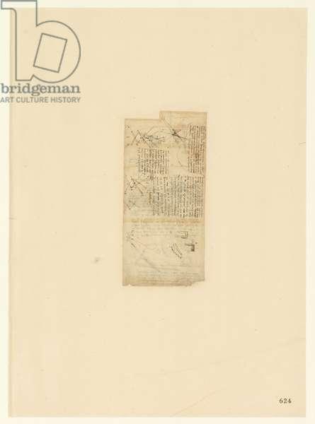 Codex Atlanticus, sheet 624 recto