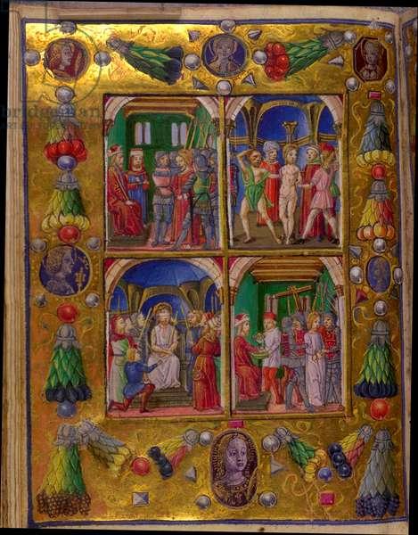 Borromeo Book of Hours, 15th century (vellum)