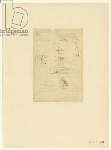 Codex Atlanticus, sheet 724 recto