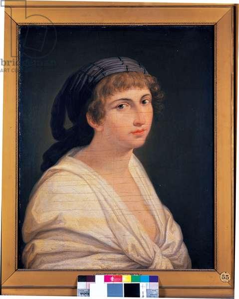 Portrait of a Woman, c.1800 (oil on canvas)