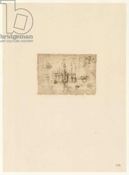 Codex Atlanticus, sheet 779 recto