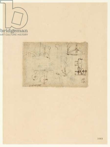 Codex Atlanticus, sheet 1083 recto