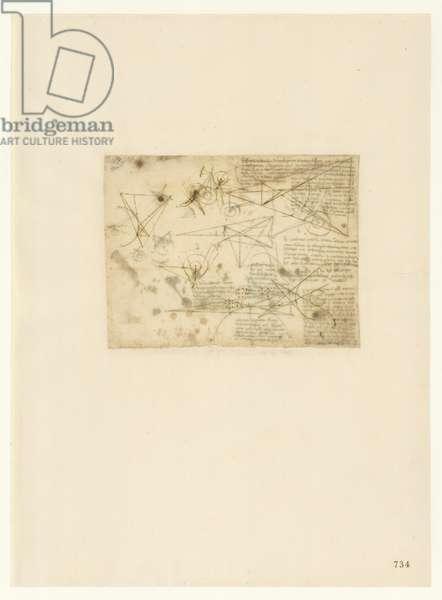 Codex Atlanticus, sheet 734 recto