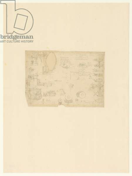 Codex Atlanticus, sheet 1038 verso