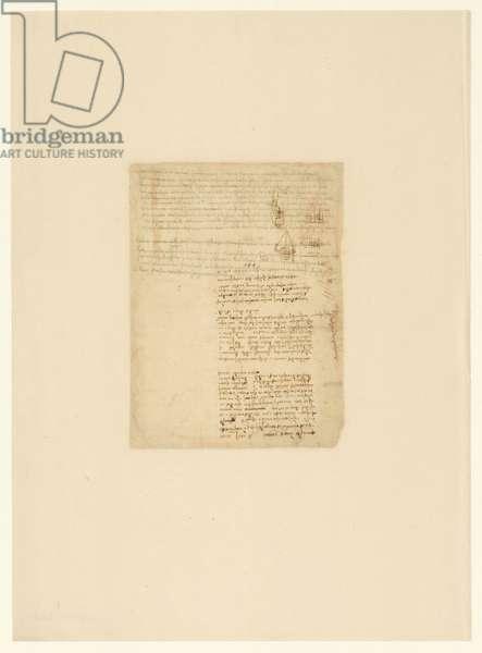 Codex Atlanticus, sheet 544 verso