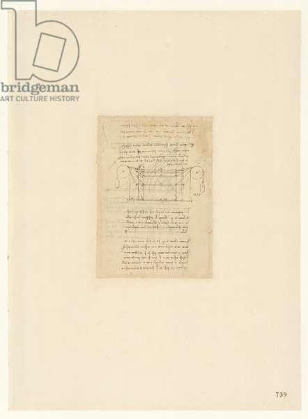 Codex Atlanticus, sheet 739 recto